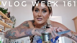 VLOG WEEK 161 - LOCKDOWN GARDEN PARTY | JAMIE GENEVIEVE