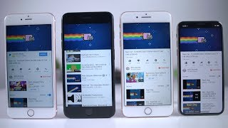 Battery Test: Apple iPhone 6S Plus vs Apple iPhone 7 Plus vs Apple iPhone 8 Plus vs Apple iPhone X