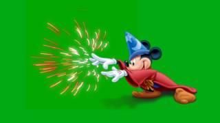 Chroma Key Disney Magic Mickey Mouse