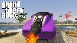 GTA 5 ROCKET VOLTIC CRAZY PARKING ENTRY !?