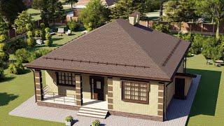 Проект дома 090-А, Площадь дома: 90 м2, Размер дома:  11,5х11,5 м