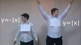 Графики функций в танце ( стёб, прикол ) # весёлая математика
