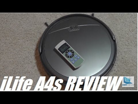 REVIEW: iLife A4S - Robot Vacuum to Rival Roomba?