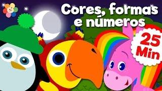 Vídeos Educativos Para Crianças – Compilação | Cores, Formas, Números E Muito Mais! | BabyFirst