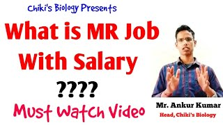 Medical Representative Job with Salary || Pharmacy Careers in india || Career in Pharma..By Chiki's