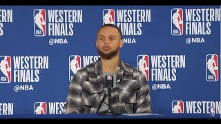 Stephen Curry Postgame Interview | Rockets vs Warriors Game 3 - Video Youtube
