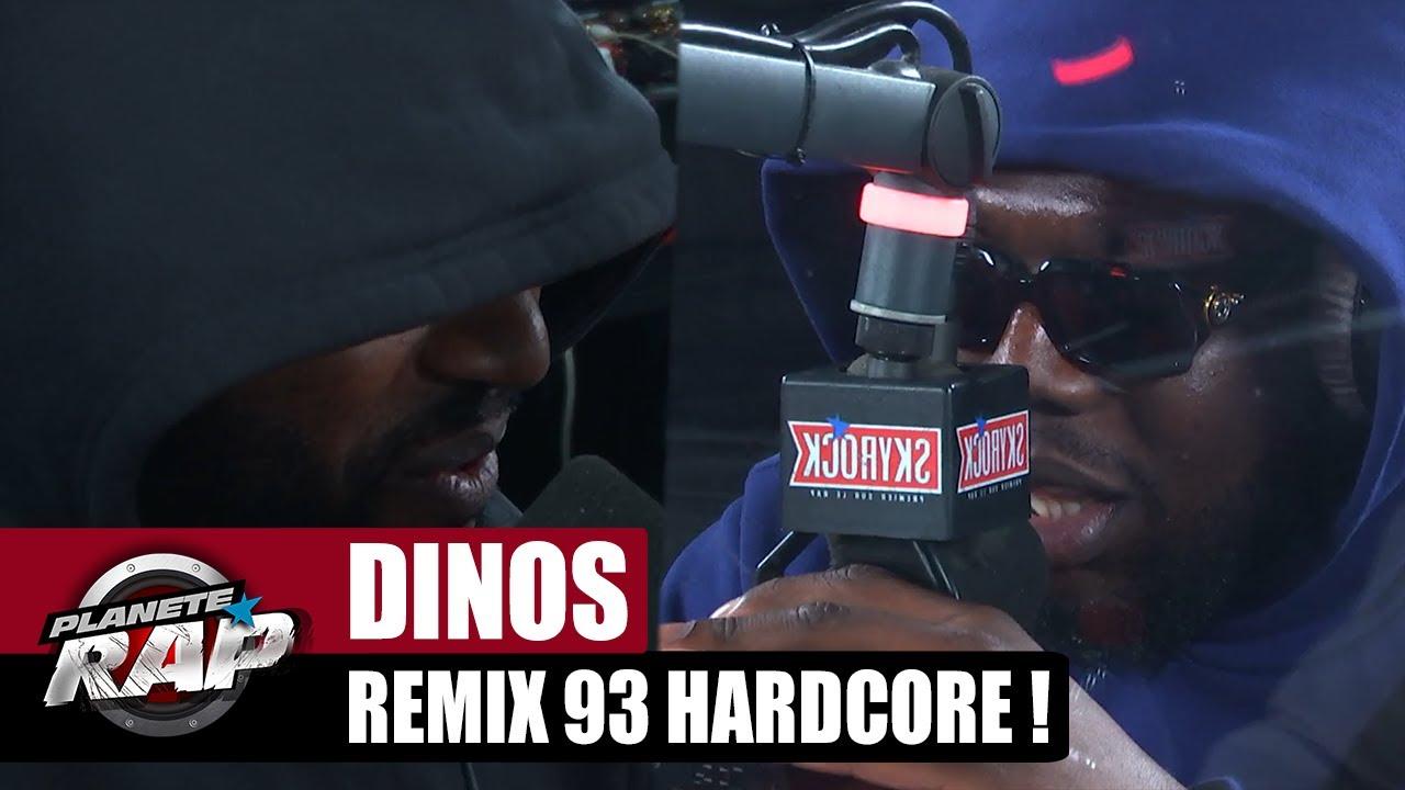 """Dinos REPREND le morceau """"93 HARDCORE"""" de TANDEM ! #PlanèteRap"""