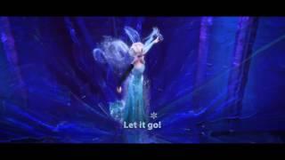 FROZEN   Let It Go Sing along   Official Disney HD