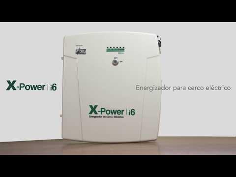XPOWER i6 - Energizador para cercos eléctricos