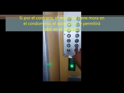 Instalación MA300 en ascensor youtube