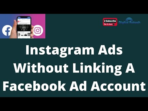 How to run Instagram ads without run Instagram ads