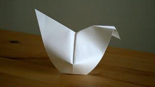 Origami - Poule de Pâques