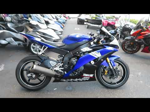 2011 Yamaha YZF-R6 in Sanford, Florida - Video 1
