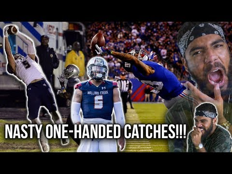 Randy Moss's Son Makes INSANE One Handed Catches!!! Thaddeus Moss High School Highlights [Reaction]