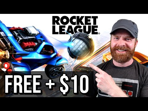 Rocket League is Free to Play and get 10 bucks from Epic