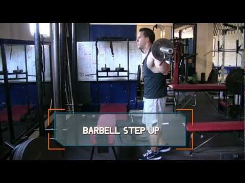 Barbell Step Up Exercise Com