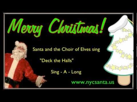 Deck The Halls Lyrics | NYC Santa
