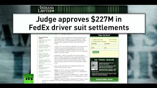 Fed-Ex Forced to Pay for Deceiving Its Drivers