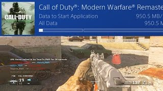 People are Downloading Early Access to Modern Warfare Remastered Multiplayer!