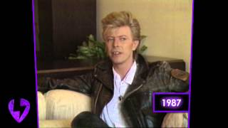 David Bowie: On Working With Peter Frampton (Interview   1987)