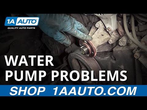 Signs the Water Pump Is Going Bad