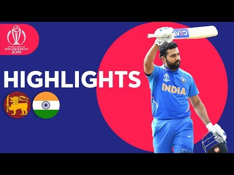 Sri Lanka vs India Match Highlights ICC Cricket World Cup 2019