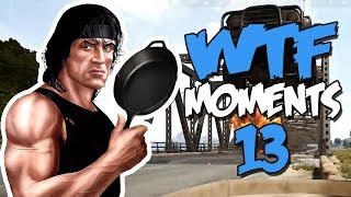 RAMBO IS BACK - PUBG WTF Funny Moments Ep. 13