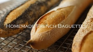 Easy Homemade French Baguettes   Bruno Albouze   THE REAL DEAL