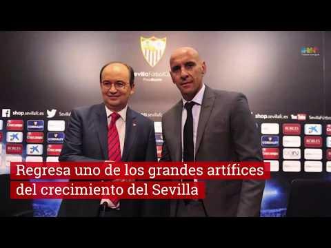 Vuelve Monchi al Sevilla