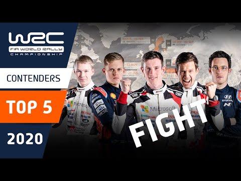 WRC ラリー・イタリア・サルディニア 直前に見るトップ5ドライバーの前半戦ラリーの様子をおさめた動画