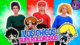 Las CHICAS SUPERPODEROSAS ⚡MOJO JOJO Crea A Los CHICOS SUPEROLOROSOS - Juguetes Fantásticos
