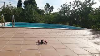 Drone racing , dron de carreras despegando a cámara lenta!!!