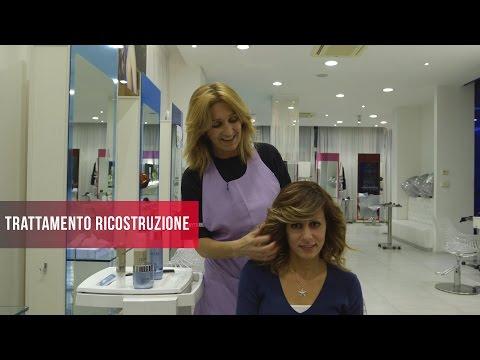 Il ferro per capelli con olio di argo