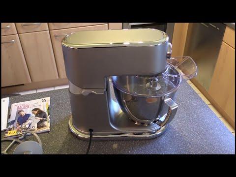 WMF 0416320071 - Profi Plus Küchenmaschine - steel grau