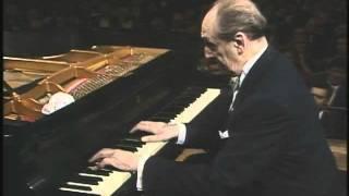 SCHUBERT, Impromptu n°3 by Vladimir Horowitz  (Concert d'horowitz à Vienne , 1987)