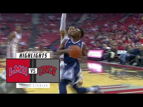 Loyola Marymount vs. UNLV Basketball Highlights (2018-19) | Stadium