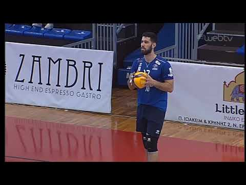 Volley League: ΚΗΦΙΣΙΑ-ΟΛΥΜΠΙΑΚΟΣ | 01/03/2020 | ΕΡΤ