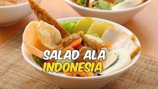 Bosan Makan Opor Ayam dan Rendang, Coba 5 Salad Sayuran Segar Khas Indonesia