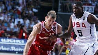 USA vs Russia 2010 FIBA World Basketball Championship Quarter Finals FULL GAME English