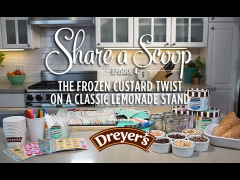 Video Launch a Frozen Custard Stand with Dreyer's and Serious Eats