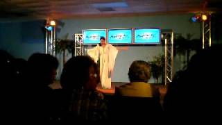 "Anita Pantomime/Dance ""My Redeemer Lives"" Nicole C. Mullen"