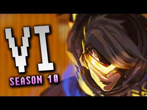Season 10 Vi Jungle Diamond Gameplay - League of Legends