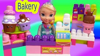 Queen Elsa Disney Frozen Ice Cream Cupcakes Bakery In A Bag MEGA Bloks Lego Like Toy