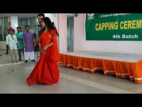 jbfni dance on caping ceremonies.  by anik and his group