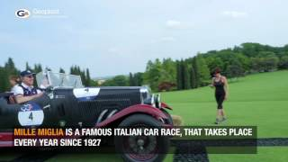 Parco Giardino Sigurtà in Verona chose Geoflor by Geoplast for Mille Miglia Race