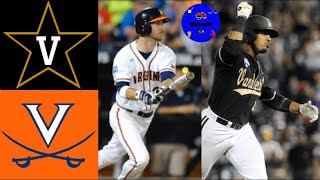 Vanderbilt vs #3 Virginia   2014 College World Series Championship Game   College Baseball Classics
