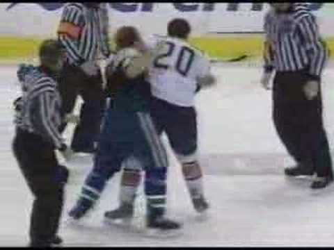 Zack Stortini vs Luc Bourdon