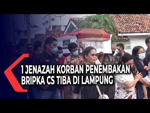 Satu Jenazah Korban Penembakan Bripka CS Tiba di Lampung