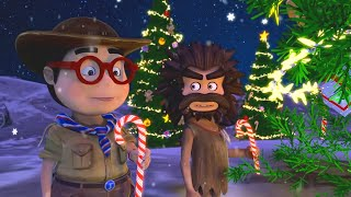 Oko Lele - Christmas Special - Gift From The Sky - CGI animated short - Super ToonsTV