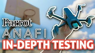 Parrot ANAFI Drone: In-Depth Testing!